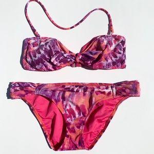 Victorias secret tie dye bikini